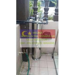 water filter outdoor master with installation at SUNGAI RAMBAI MELAKA / penapis air utama luar rumah siap pasang di SUNGAI RAMBAI MELAKA