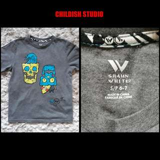 Original SHAUN WHITE t-shirt for kids age 6-7 years old.