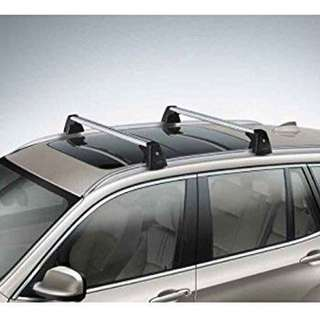 BMW X3 roof rack + flush rail