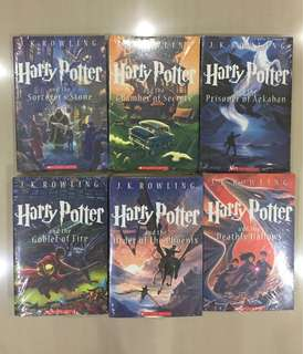 Harry Potter Book (Incomplete set)