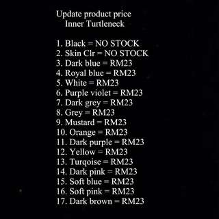 Update product price