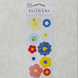 Heidi Grace 'Flowers' Dimensional Stickers