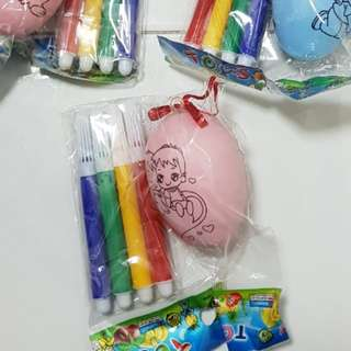 DIY Easter Eggs (comes with 4 markers)