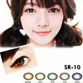 Softlense Tiffani SR 01- SR 10 (READY WARNA PINK & VIOLET SAJA)