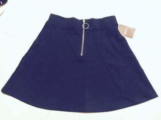 Forever21 Navy short skirt