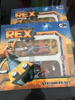 Generator REX stationery set