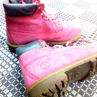 Timberland Boots - Perfect for Travel!