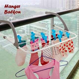 Hanger balkon serbaguna