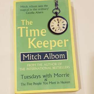The Time Keeper by author of 5 ppl u meet in heaven