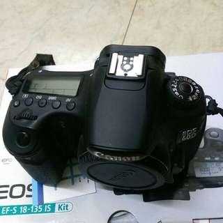 🚚 Eos 60d full sett acc box (body only)