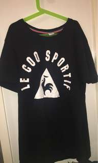 LE COQ SPORTIF tshirt Black