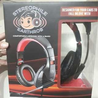 Original Stereophile Earthrob Headphone