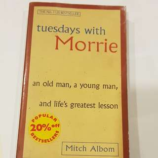 Tuesdays with Morrie. Best seller