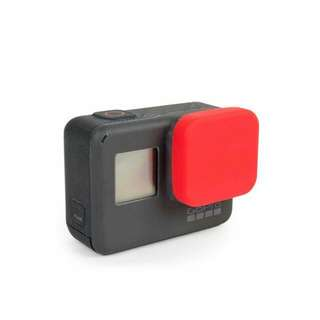 Brand New Silicone Lens Cover for Gopro Hero 5 / 6 - Red