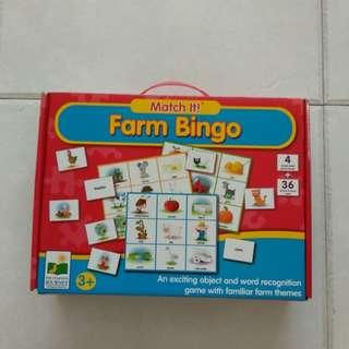 Match It! Farm Bingo
