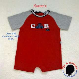 Car Onesie For Baby Boy