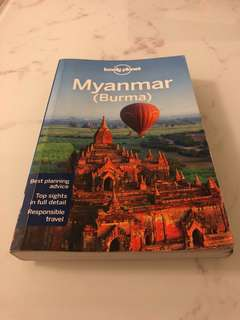 Lonely planet Myanmar