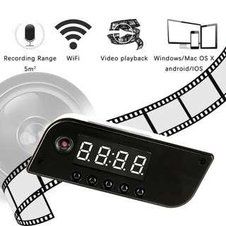 Instock WiFi Camera for House - Clock Camera Jansin