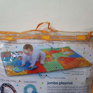 mothercare jumbo safari playmat