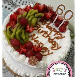 Tutti Fruity Vanilla Cake