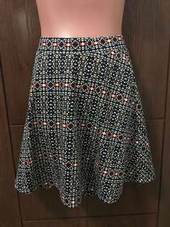 A-line printed skirt from H&M