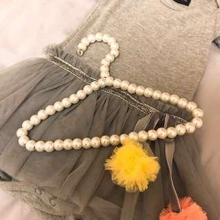 Baby tutu dress (3-6 mos) BB女百日宴裙