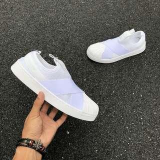 ReadyStock✔Slip On White