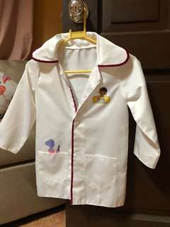 Authentic Doc McStuffin Costume for 3 year old