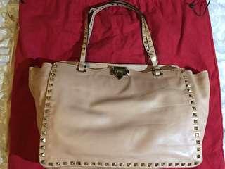 Valentino classic stub pink bag