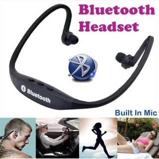 Sport S9 original hf bluetooth blutut headset wireless