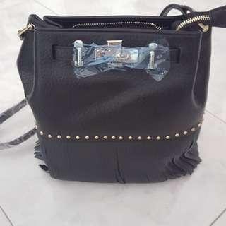 BNIB Tassel Bucket Bag