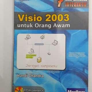 7 Jam Belajar Interaktif Visio 2003 untuk Orang Awam