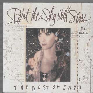 MY PRELOVED CD - THE BEST ON ENYA - PAINT THE SKY WITH STARS / FREE DELEVERY (F9B)