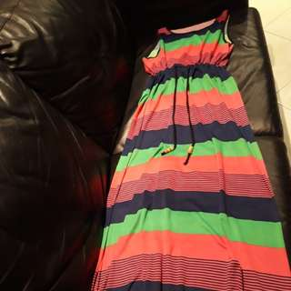 Colorful  long dress