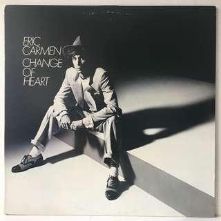 Eric Carmen – Change Of Heart (1978 USA Original - Vinyl is Mint)