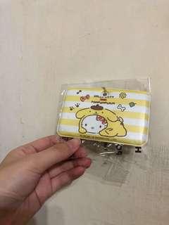 Hello Kitty行李吊牌布丁狗條紋款