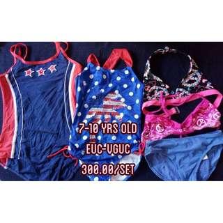 Kids Swimsuit Swimwear Preloved