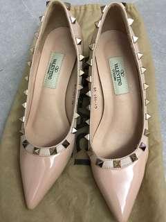 36 size pretty pink stud shoe
