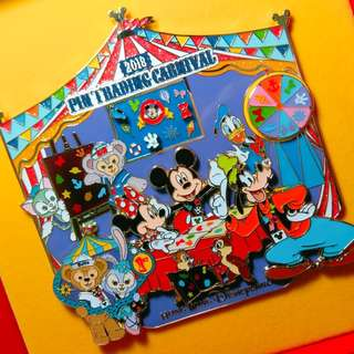 完整~全新~ Disney Pin 迪士尼徽章 Jumbo Pin LE250