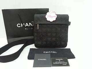 Authentic Chanel Travel Line Messenger Bag  {{ Only For Sale }} ** No Trade ** {{ Fixed Price Non-Neg }} ** 定价 **