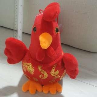 Chicken soft toy