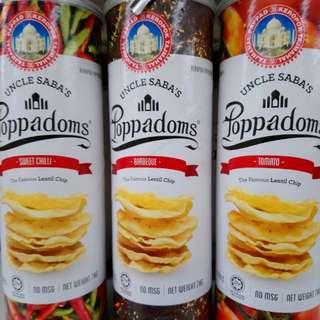 Poppadom. Ready to eat.