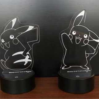 Sega Prize  Pocket Monsters Pokemon Sun & Moon Pikachu Premium 2 Way Illusion Light