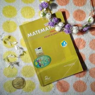 PRELOVED buku pks matematika peminatan kelas XI 11 SMA  kurikulum 2013