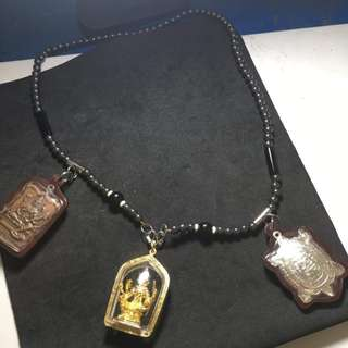 Leklai 3 Hook Amulet Necklace
