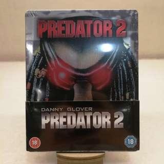 全新 英版 鐵血戰士2 PREDATOR 2 STEELBOOK 藍光 鐵盒