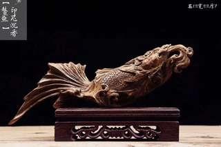 印尼沉香#鰲魚#高12寛22厚7cm