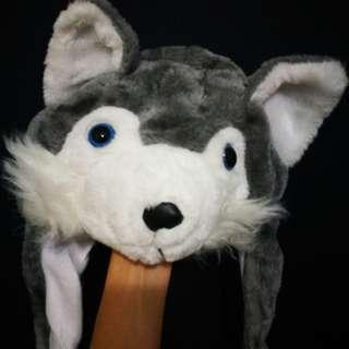 Husky winter hat
