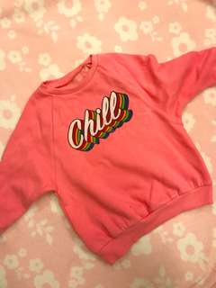Pink 'Chill' Sweater