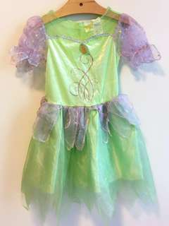 Disney Tinker Bell girl's costume party dress size 7-8yrs kids